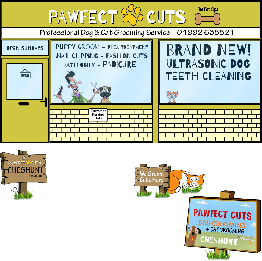 Pawfect Cuts Dog and Cat Grooming in Cheshunt
